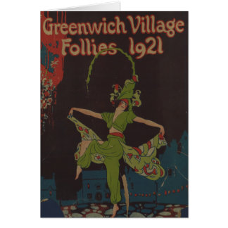 Greenwich Village Follies Card