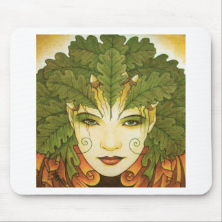 greenwoman mouse pad