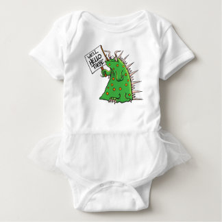 Greep Graphic Well Hello There Baby Bodysuit