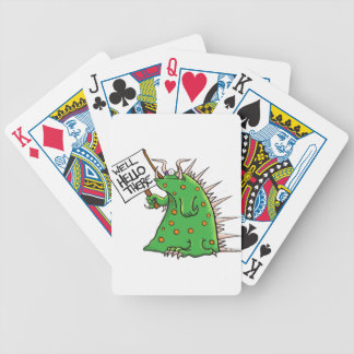 Greep Graphic Well Hello There Bicycle Playing Cards