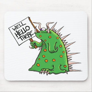 Greep Graphic Well Hello There Mouse Pad