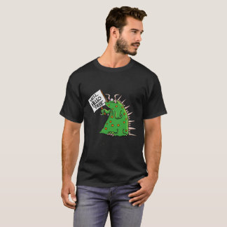 Greep Unisex T-shirt Dark Background