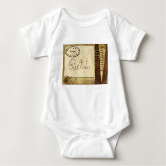 Greeting Baby Bodysuit