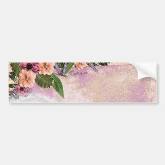 greeting-card-381803 SCRAPBOOKING FLORAL FLOWERS D Bumper Sticker
