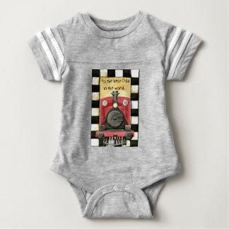greeting-card baby bodysuit