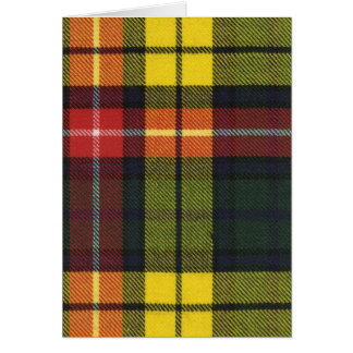 Greeting Card Buchanan Modern Tartan