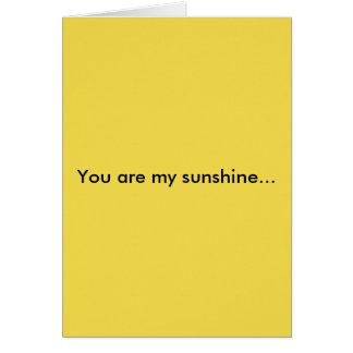 Greeting Card. Card