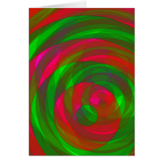 Greeting Card Christmas Colours Spin 1