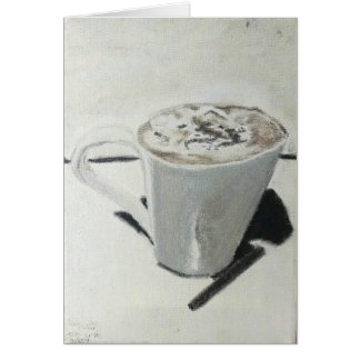 "Greeting Card ""Cocoa with Cinnamon"" Amber Larsen"