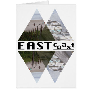 Greeting Card EAST COAST