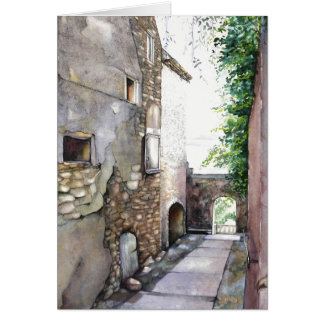 "Greeting Card En Grignan 5"" x 7"""