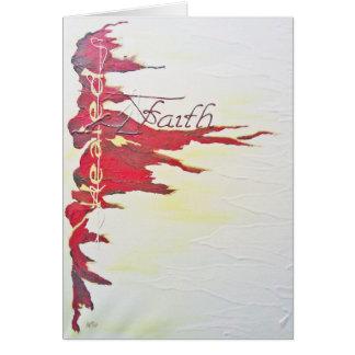 Greeting Card - Faith, Healed