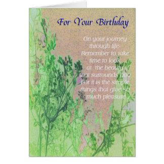 Greeting Card General Birthday