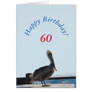 Greeting Card - Happy Birthday Pelican