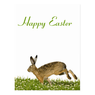 Greeting Card Happy Easter Postcard