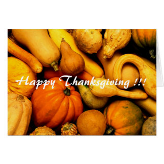 Greeting card - Happy Thanksgiving !!!