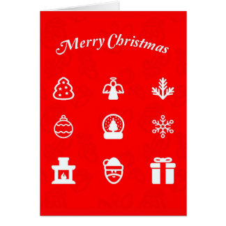 Greeting Card-Holiday Art-Christmas 117 Card