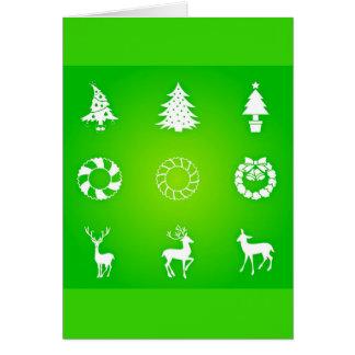 Greeting Card-Holiday Art-Christmas 118 Card