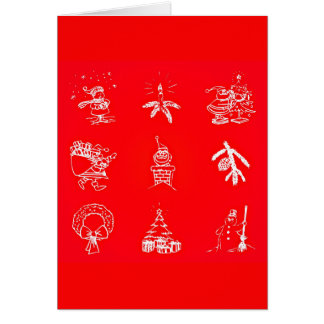 Greeting Card-Holiday Art-Christmas 119 Card
