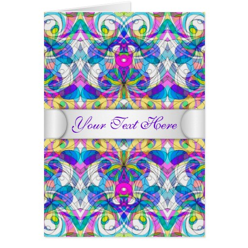 Greeting Card Indian Style