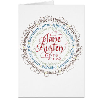 Greeting Card Jane Austen Period Drama Adaptations