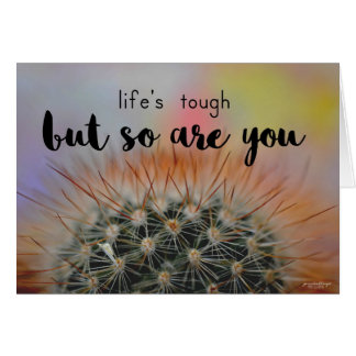 Greeting Card - Life Is Tough