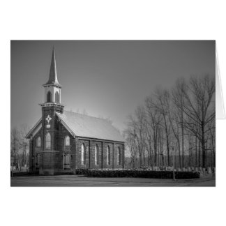 Greeting Card - North Carolina Country Church