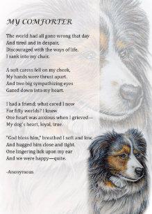 Dog Loss Poem Home Furnishings & Accessories | Zazzle com au