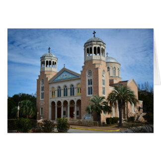 Greeting Card - Orthodox Church