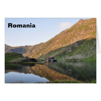 Greeting card- Romanian landscape Card
