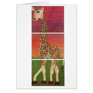 Greeting Card - Sahara Expression