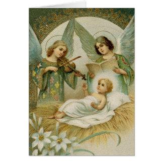 Greeting Card (Scripture): Luke 2:14Gloria