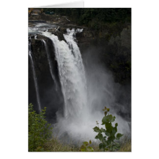 Greeting Card:  Snoqualmie Falls Card