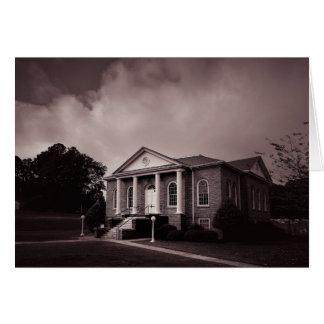 Greeting Card - South Carolina Country Church