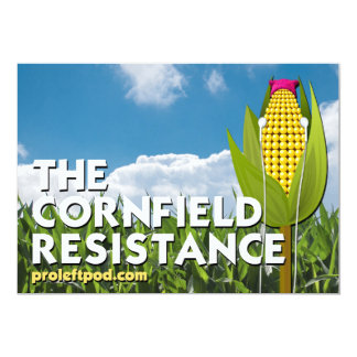 Greeting Card - The Cornfield Resistance