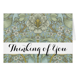 Greeting Card William Morris Custom Template