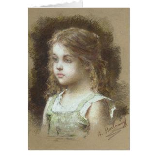 Greeting Card With Alexei A. Harlamoff Painting