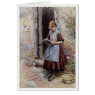Greeting Card With Myles Birket Foster Painting