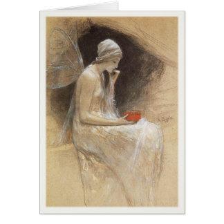 Greeting Card With Nikolaos Gyziz Painting