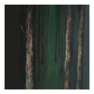 Greeting card - 'Woods' 13 Cm X 13 Cm Square Invitation Card
