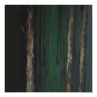 Greeting card - 'Woods' 13 Cm X 13 Cm Square Invitation Card