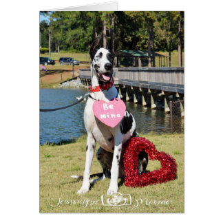 Greeting Cards by Dozer the Therapy Dog