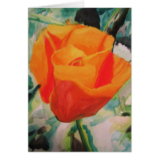 "Greeting Cards ""California Poppy"" by Amber Larsen"