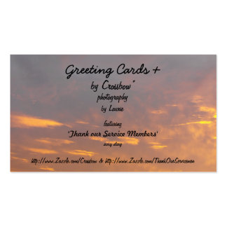 Greeting Cards + Pack Of Standard Business Cards