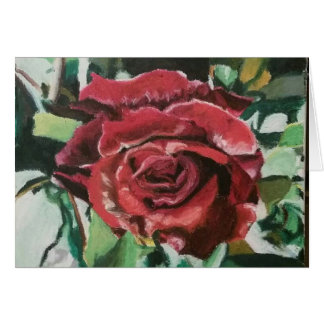 """Greeting Cards """"Red France Rose"""" by Amber Larsen"""