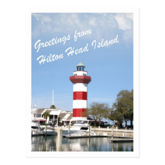 Greeting from Hilton Head Island Postcard