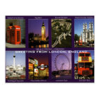 GREETING FROM LONDON, ENGLAND POSTCARD BY MOJISOLA