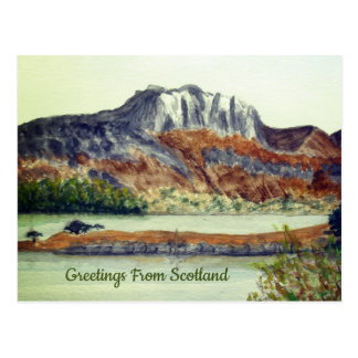 Greeting From Scotland Postcard