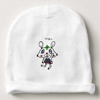Greeting Funny Rabbit Baby Beanie