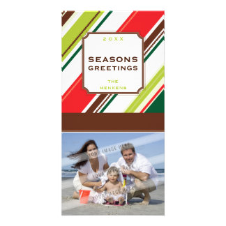 GREETING PHOTO CARD :: season striped P2